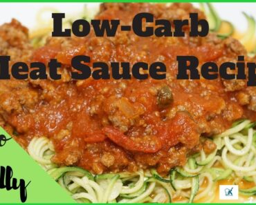 The Greatest Low-Carb Meat Sauce Recipe Ever | Keto-Friendly