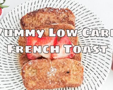 Super Easy Low Carb French Toast