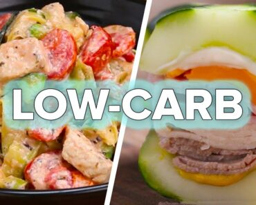 10 Easy Low-Carb Dinners • Tasty Recipes