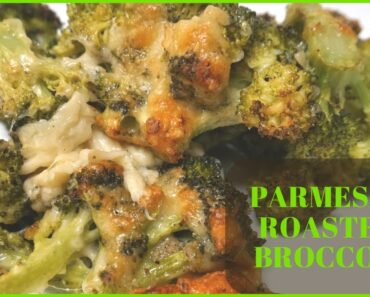 Parmesan Roasted Broccoli – EASY MEAL – EASY SIDE DISH – LOW CARB & KETO ALL THE WAY!