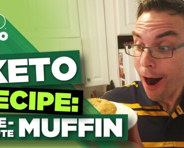 One-Minute Keto Microwave Muffin