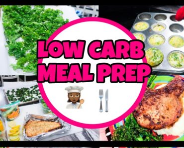 HOW TO MEAL PREP| LOW CARB MEAL PREP IDEAS| WEEKLY  KETO MEAL PREP FOR A BUSY MOM