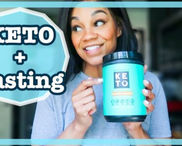 FULL DAY OF EATING KETO + INTERMITTENT FASTING| LOW carb recipes + Getting into Ketosis + what I eat