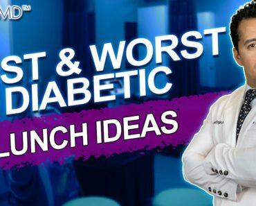 BEST and WORST Breakfast food ideas for diabetes. Low carb Diabetic Diet for blood sugar. SugarMD