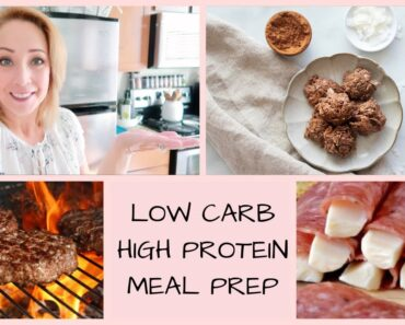 MEAL PREP // LOW CARB // HIGH PROTEIN // BARIATRIC FRIENDLY