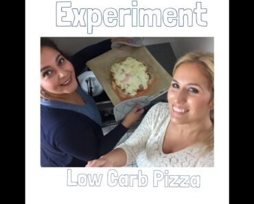 Experiment Low Carb Tunfischpizza mit bloomyberry