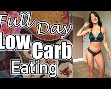 What I Eat On A Low Carb Day | Volume Eating