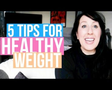 WEIGHT LOSS TIPS | 5 Science backed tips for weight loss | Boost health to stay safe during COVID-19