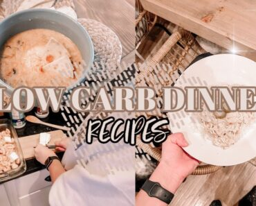 EASY LOW CARB DINNER IDEAS | INSTANT POT AND CROCK POT RECIPES | FAMILY DINNER IDEAS