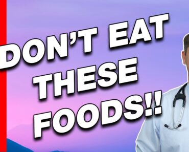 TOP 10 Foods to Avoid to LOSE WEIGHT